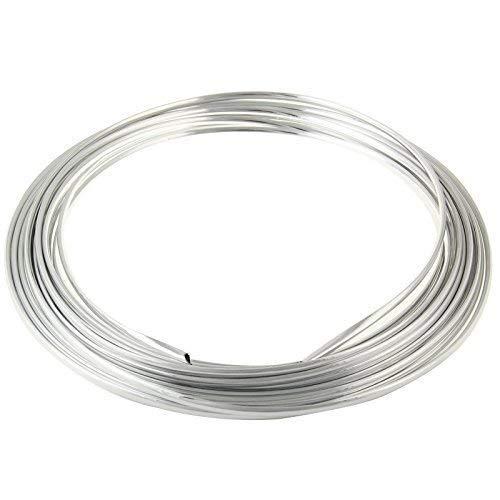Türkantenschutz 6m in Silber für Auto - U-Profil HOCHFLEXIBEL - ZUSCHNEIDBAR - SELBSTKLEBEND - Witterungsbeständig Pkw Kfz