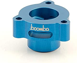 Boomba Racing BOV Blow Off Valve ADAPTOR BLUE for 2014+ Ford Fiesta ST