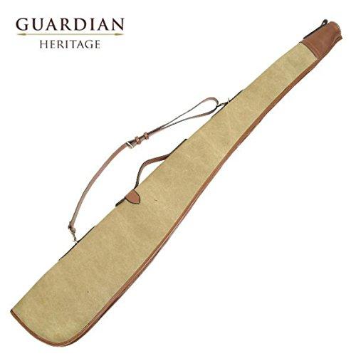 Guardian Pelle Fucile Da Caccia Cartuccia Borsa