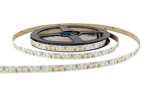 Eurekaled - Striscia Led A+ 5mt 90W Luce naturale 9000 lumen, Ra>95, Bobina strip led da 600 LED Chip 2835 4000K, IP20 non impermeabile cod. 1370