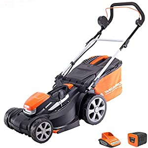 Yard Force Cordless Battery Powered Mower
