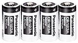 Panasonic CR123A リチウム電池 1550mAh (4本組) [並行輸入品]