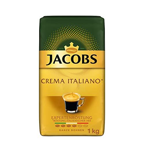 Jacobs Kaffeebohnen Expertenröstung Crema Italiano, 1 kg Bohnenkaffee