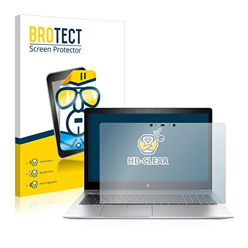BROTECT Schutzfolie kompatibel mit HP EliteBook 850 G5 Touch klare Bildschirmschutz-Folie