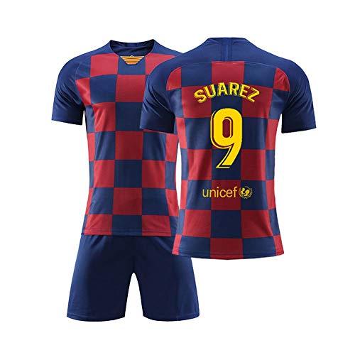 COOLBOY 2019-20 Bambino Adulto Maglia Replica - Suarez 9 - T-Shirt Pantaloncini,S