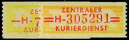 Goldhahn DDR Dienst B Nr. 16-17 postfrisch  Briefmarken für Sammler