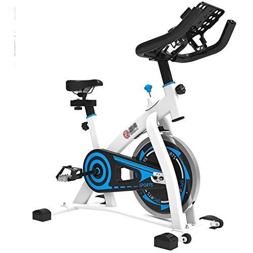 Indoor Cycling Bike Schlank Zyklus Übungs-Fahrrad, wie auf Fernseh stationäres Fahrrad Riementrieb Spin Bike Schweren Widerstand Schwungrad, Cardio Fitness Cycle Trainer Professionellen Heimtrainer fo