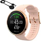Polar Ignite GPS Heart Rate Monitor Watch - Pink/Rose (Small) with Bonus Charging Cable