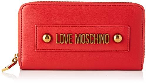 Love Moschino Damen Jc5604pp1a Geldbörse, Rot (Rosso), 2x10x19 centimeters