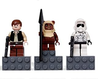 LEGO Star Wars Magnets Set #4585396 Han Solo, Paploo, Scout Trooper