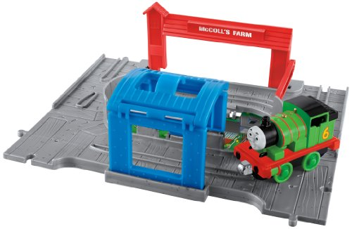 Fisher-Price Take n Play Thomas and Friends Set Portable avec Moteur à Percussion