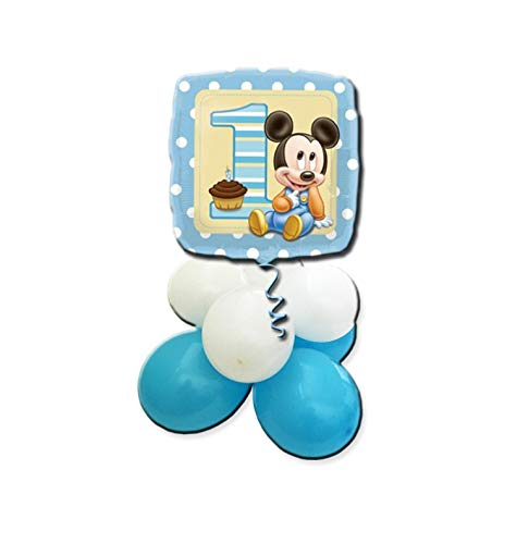 ana gram Centro de Mesa Globos ratón bebé