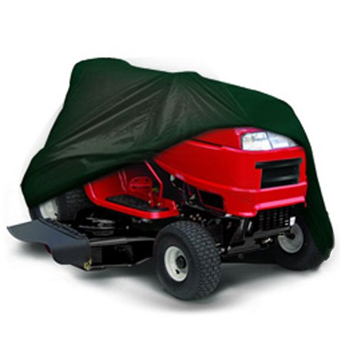 CarsCover Lawn Mower Garden Tractor Cover Fits Decks up to 54' - Olive Green