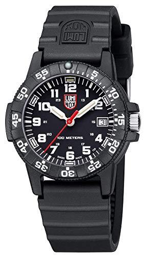 [ルミノックス]LUMINOX腕時計レザーバックシータートル0300シリーズオールブラック301メンズ[並行輸入品]