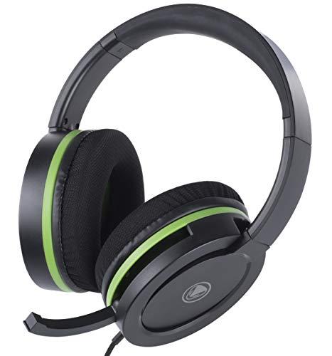snakebyte Xbox One HEADSET X PRO - Stereo Gaming Headset mit Mikrofon für die XBOX One / XBOX One X, 3,5mm Audio Stecker, kompatibel mit PC, PS4, VOIP, Telefonkonferenzen, VideoCall, Skype, Zoom, uvm