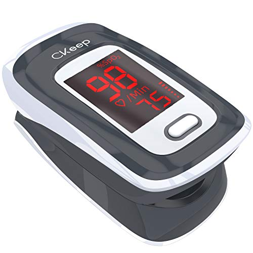 Lowest Price! Pulse Oximeter Fingertip, Portable Blood Oxygen Saturation Monitors, Heart Rate Monito...