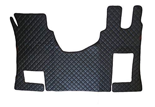 Alfombras negras Eco cuero cubre para camiones accionamiento mano derecha Actros MP4 caja de cambios manual