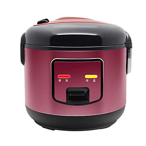 LAIZI Vapeur cuisinière 4L Rice, Vapeur Pot intérieur en Acier Inoxydable et Un Bouton pour démarrer Chaud Garder Automatique, à 25 Minutes de Cuisson Rapide Chauffage pour la Maison