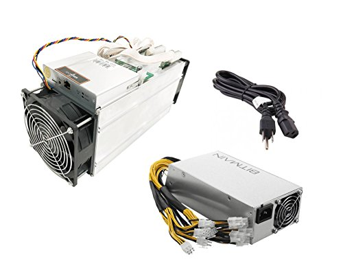 Antminer S9 ~13TH/s @0.1 W/GH 16nm ASIC Bitcoin Miner with APW3+-12-1600 PSU