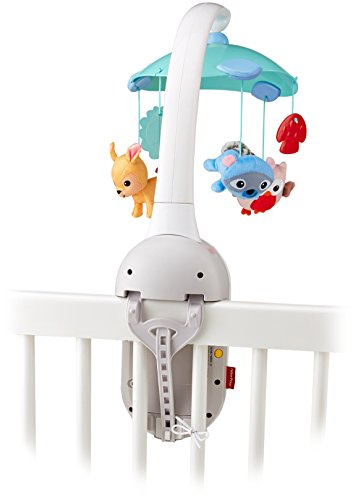 Fisher-Price Moonlight Meadow Smart Connect 2-in-1 Projection Mobile