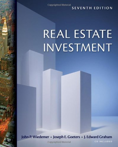 Real Estate Investment (with CD-ROM)