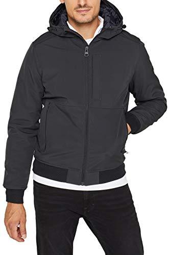 ESPRIT Herren 099Ee2G017 Jacke, Grau (Dark Grey 020), XX-Large (Herstellergröße:XXL)