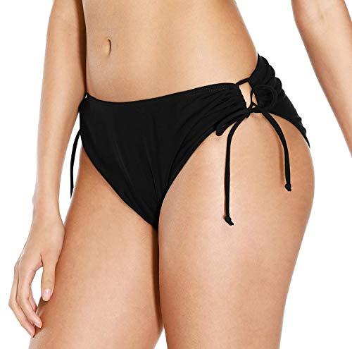 ATTRACO Women Swimwear Bottom Tie Side Tankini...