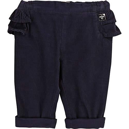 CARREMENT BEAU Pantalon en Velours côtelé Bebe Couche Bleu Cargo 12MOIS