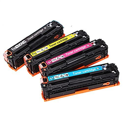 XIGU Compatible para HP CF210A Reemplazo de Cartucho de tóner para HP Laserjet Pro 200 Color M251NW 276N 276NW Impresora, Bank Office Página Suficiente Impresión Suave Combination