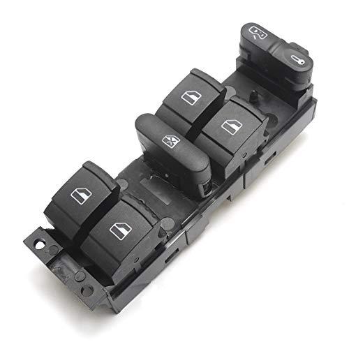 Golf Lot de 4 interrupteurs pour fenêtre électrique de commande lève-vitre Panneau Maestro Lifter Contrôle Console pour Passat B5 B5.5 Golf Jetta Passat 1998 1999 2000 2001 2002 2003 2004 1J4 990. 59 857