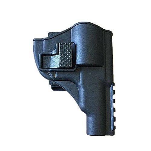 QINAIDI Los Conjuntos De Pistolas Revólver Tiran Rápidamente De La Funda Táctica Antirrobo De Plástico