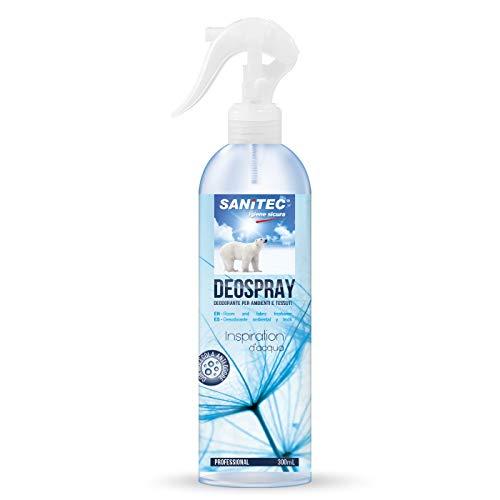 Sanitec Deo Spray Inspiration, Deodorante Ambiente, Freschezza Marina, 300 ml
