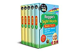 Reggie's Sight Words Box Set: 60 Essential Sight Words + 20 Stories by [Amy Russo, Reading Eggs]