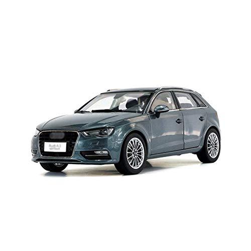 Modelo de Auto de aleación de Juguetes de Coche Juguetes para niños 1:18 Die, fundición de Coches Modelo de decoración de Regalo Compatible con Audi Gray