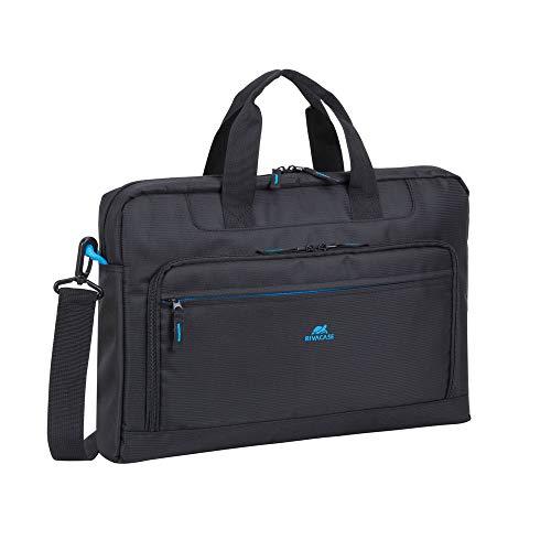 Rivacase laptoptas Regent II zwart voor 17,3 inch laptop