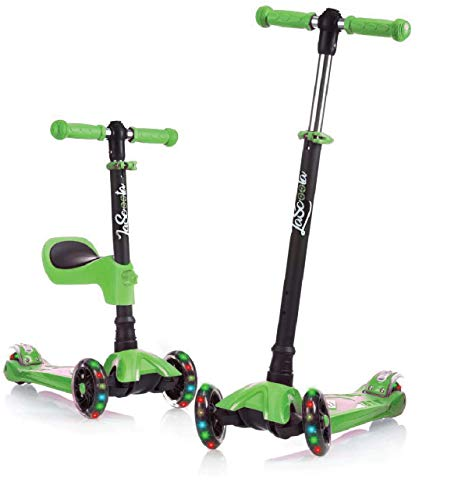 Toddler Scooter for Kids Ages 3-5 I Kids Scooter for Boys Girls I 3 Wheel Scooter for Kids Ages 3-5 I Toddler Scooter 2 Year Old and Up I Kick Scooter for Kids 2-5 I Boys Girls Scooter Green