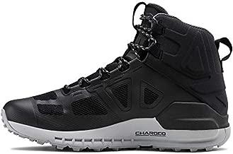 Under Armour Men's Verge 2.0 Mid Gore-TEX Hiking Boot, Black (004)/Mod Gray, 14