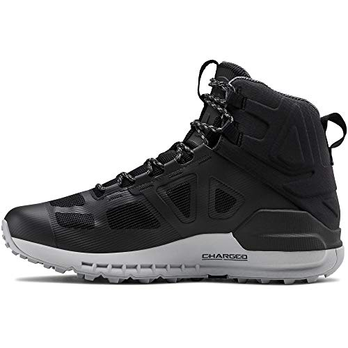 Under Armour Men's Verge 2.0 Mid Gore-TEX Hiking Boot, Black (004)/Mod Gray, 14