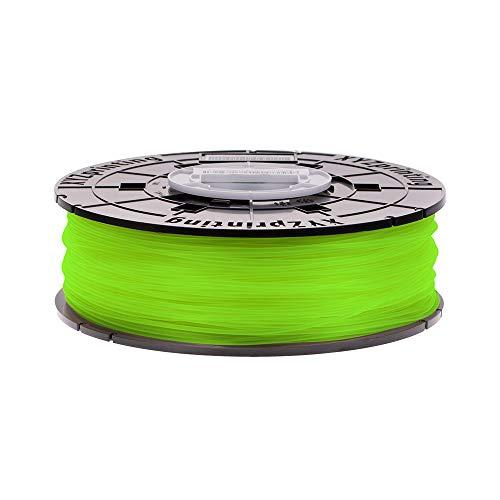 XYZprinting PLA Filament, 1.75 mm, 600 g NFC Spool, Neon Green, RFPLCXEU0AD