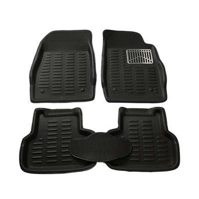 Generic - WV01RCA08834 goodway car mat 3D car Foot mat 3D car Floor mat (Black) for Maruti Wagon r VXI abs Petrol