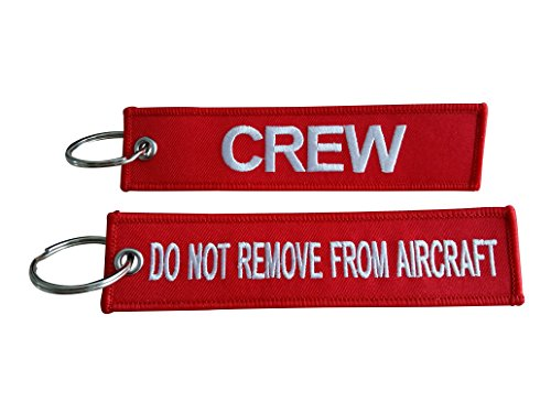 Crew Luggage Tag/Do Not Remove From Aircraft / (Crew/Do Not Remove From Aircraft)