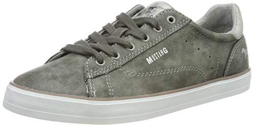 MUSTANG Damen 1267-301-20 Sneaker, Grau (Dunkelgrau 20), 38 EU