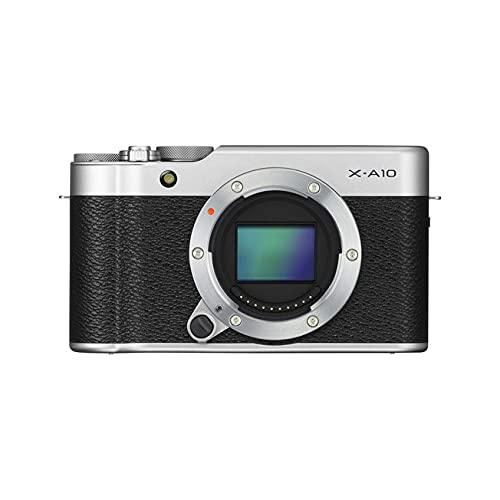 Fujifilm X-A10 Mirrorless Camera Silver (Body Only)