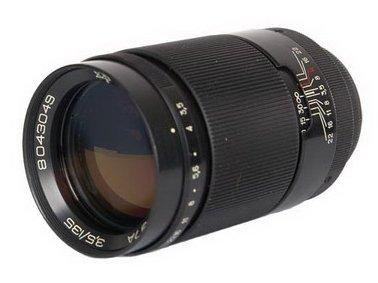 Jupiter-37A 135mm F3.5 Russian Portrait Lens for M42 Mount Cameras