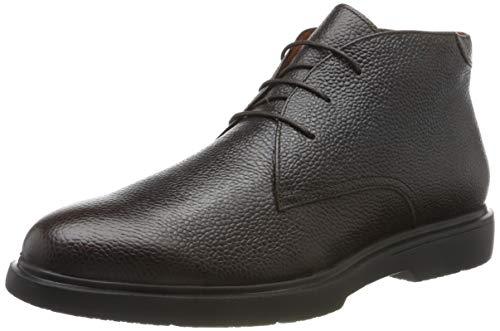 Stonefly Herren Truman Calf Print Chukka Boots, Braun (Mocha Brown 330), 44 EU
