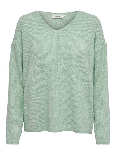 ONLY Female Strickpullover V-Ausschnitt SEther