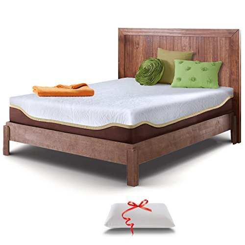 Live & Sleep Twin Mattress - Gel Memory Foam Mattress in a Box -...