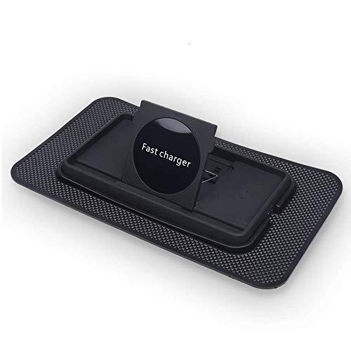 Base De Charge Sans Fil Pour Voiture Trickle QI Standard Charge Rapide Et Sûre, Compatible Avec IPhone 11 / SE 2020 / XR / XS / XS Max, Xiaomi MIX 2S, Sony Xperia Z3v / Z4v / XZ2. Convient Pour Galaxy