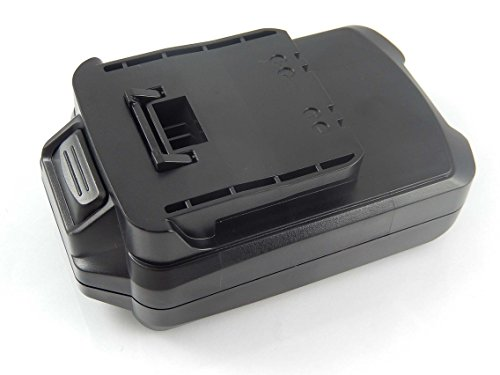INTENSILO Li-Ion Akku 2500mAh (18V) für Elektro Werkzeug Meister Craft 5451260, 5451370, BBR-180, BBR180, MAS 180 wie 5451270, R18/65.