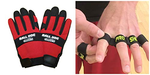 Cheapest Prices! Basketball Dribbling Dribble Shooting Training Aid Equipment - Gloves & Sleeve (S, ...